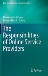 Omslag - The Responsibilities of Online Service Providers