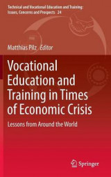Omslag - Vocational Education and Training in Times of Economic Crisis 2017