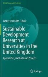 Omslag - Sustainable Development Research at Universities in the United Kingdom