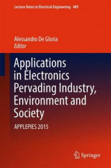 Omslag - Applications in Electronics Pervading Industry, Environment and Society 2017