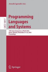 Omslag - Programming Languages and Systems