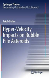 Omslag - Hyper-Velocity Impacts on Rubble Pile Asteroids