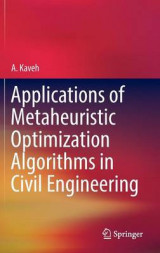 Omslag - Applications of Metaheuristic Optimization Algorithms in Civil Engineering 2017