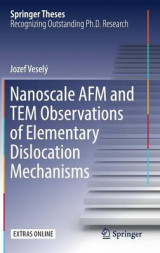 Omslag - Nanoscale AFM and TEM Observations of Elementary Dislocation Mechanisms
