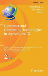 Omslag - Computer and Computing Technologies in Agriculture: Part 2, No. 9
