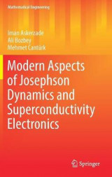 Omslag - Modern Aspects of Josephson Dynamics and Superconductivity Electronics 2017