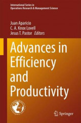 Omslag - Advances in Efficiency and Productivity 2016