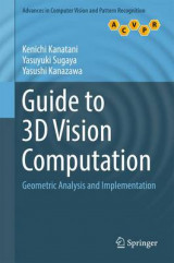 Omslag - Guide to 3D Vision Computation