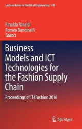 Omslag - Business Models and ICT Technologies for the Fashion Supply Chain