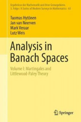 Omslag - Analysis in Banach Spaces 2017: Martingales and Littlewood-Paley Theory Volume I