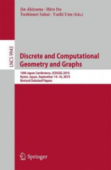 Omslag - Discrete and Computational Geometry and Graphs