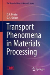 Omslag - Transport Phenomena in Materials Processing