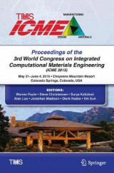 Omslag - Proceedings of the 3rd World Congress on Integrated Computational Materials Engineering (ICME)
