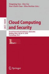 Omslag - Cloud Computing and Security: Part I