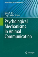 Omslag - Psychological Mechanisms in Animal Communication