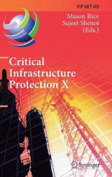 Omslag - Critical Infrastructure Protection 2016