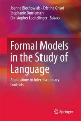 Omslag - Formal Models in the Study of Language