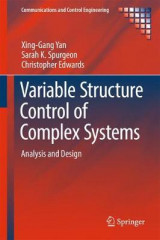 Omslag - Variable-Structure Control of Complex Systems 2016