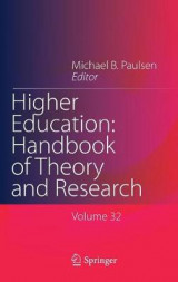Omslag - Higher Education: Handbook of Theory and Research