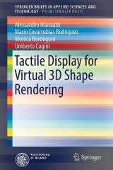 Omslag - Tactile Display for Virtual 3D Shape Rendering 2017