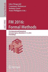 Omslag - FM 1016: Formal Methods 2016