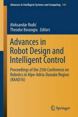 Omslag - Advances in Robot Design and Intelligent Control 2017