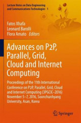 Omslag - Advances on P2p, Parallel, Grid, Cloud and Internet Computing