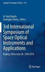 Omslag - 3rd International Symposium of Space Optical Instruments and Applications