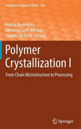 Omslag - Polymer Crystallization: No. I