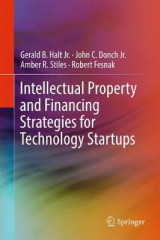 Omslag - Intellectual Property and Financing Strategies for Technology Startups