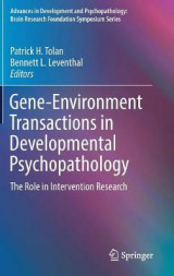 Omslag - Gene-Environment Transactions in Developmental Psychopathology