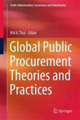 Omslag - Global Public Procurement Theories and Practices