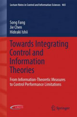 Omslag - Towards Integrating Control and Information Theories