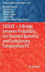 Omslag - Evolve - A Bridge Between Probability, Set Oriented Numerics and Evolutionary Computation VII