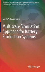 Omslag - Multiscale Simulation Approach for Battery Production Systems