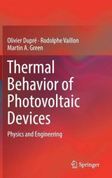 Omslag - Thermal Behavior of Photovoltaic Devices