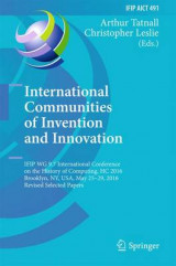 Omslag - International Communities of Invention and Innovation