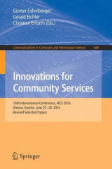 Omslag - Innovations for Community Services 2016