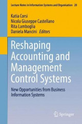Omslag - Reshaping Accounting and Management Control Systems
