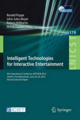 Omslag - Intelligent Technologies for Interactive Entertainment