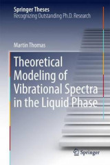 Omslag - Theoretical Modeling of Vibrational Spectra in the Liquid Phase