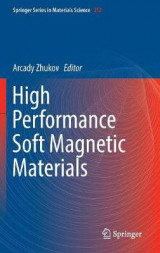 Omslag - High Performance Soft Magnetic Materials