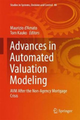 Omslag - Advances in Automated Valuation Modeling