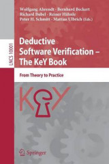 Omslag - Deductive Software Verification -- the Key Book