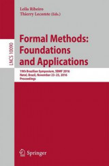 Omslag - Formal Methods: Foundations and Applications