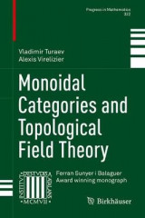 Omslag - Monoidal Categories and Topological Field Theory