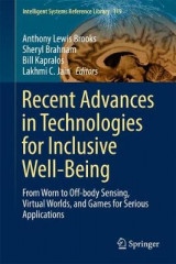 Omslag - Recent Advances in Technologies for Inclusive Well-Being