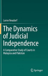 Omslag - The Dynamics of Judicial Independence
