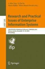 Omslag - Research and Practical Issues of Enterprise Information Systems