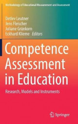 Omslag - Competence Assessment in Education